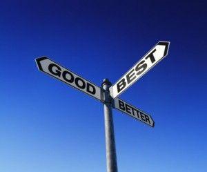 Batna - good, better best sign